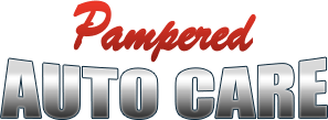 pampered auto care logo